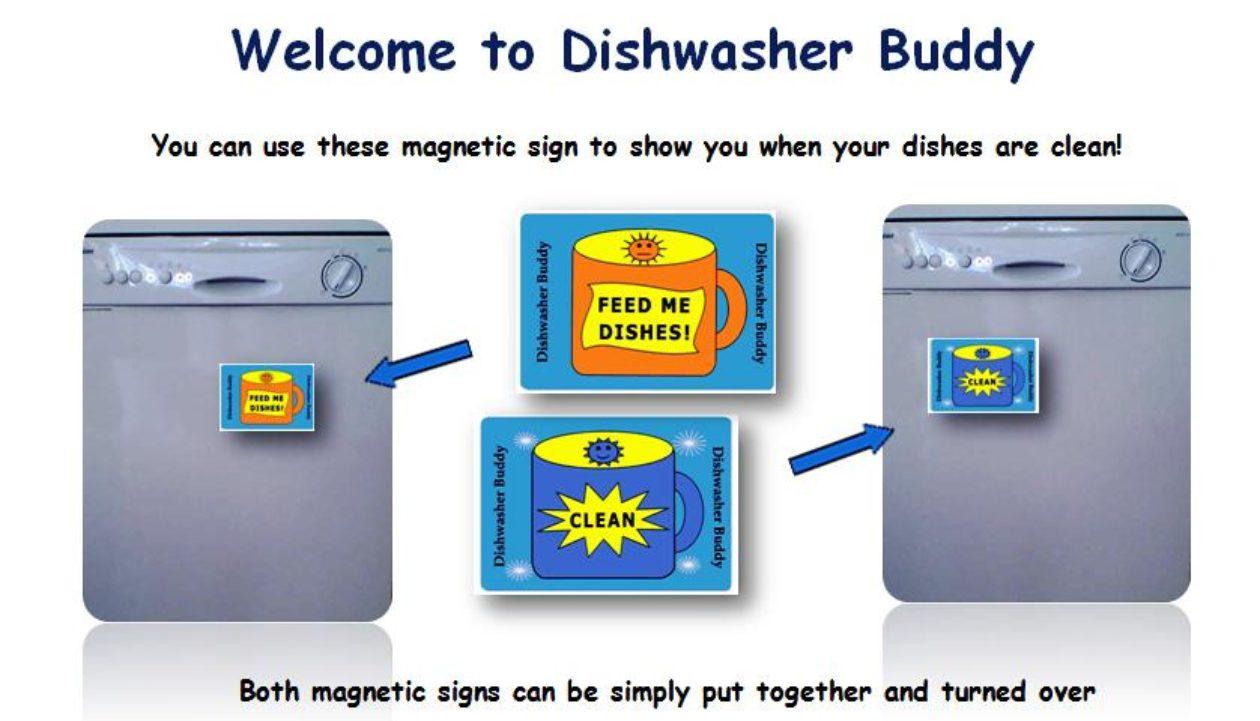 Cover Dishwasher buddy