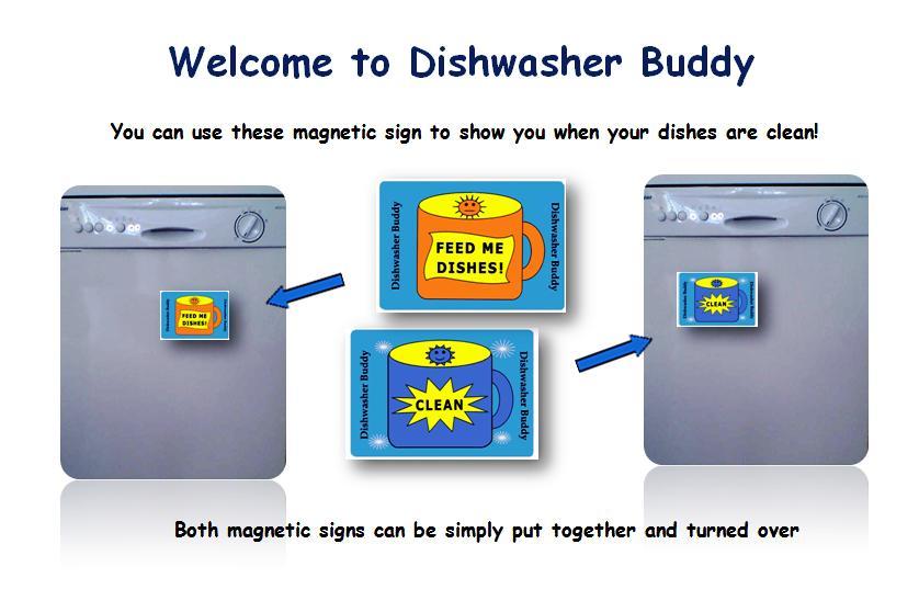 Dishwasher buddy cover
